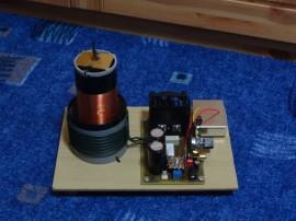 Class-E SSTC - Konstrukce