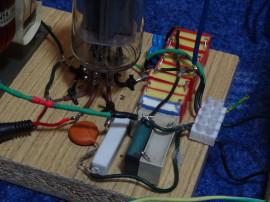 Rezonanční kondenzátor a ostatní součástky