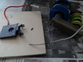Elektrody pro tahání oblouků