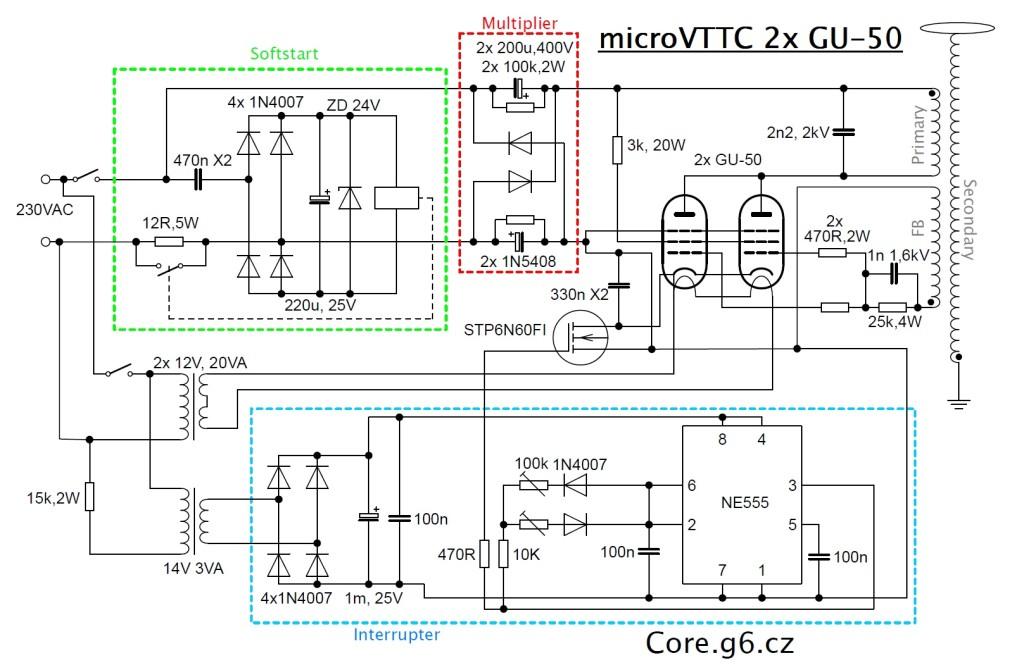 microVTTC - Schéma
